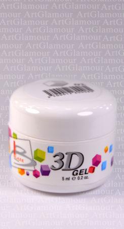 3D гель белый