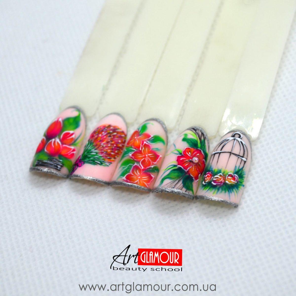 курсы маникюра акции дизайны ногтей